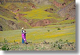 california, death valley, horizontal, jack and jill, landscapes, national parks, people, west coast, western usa, wildflowers, womens, photograph