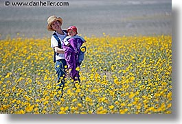 boys, california, childrens, death valley, horizontal, jack and jill, mothers, national parks, people, west coast, western usa, wildflowers, womens, photograph