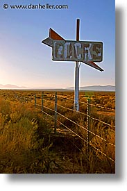 cafes, california, highways, signs, vertical, west coast, western usa, photograph