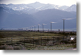 california, highways, horizontal, phonewires, west coast, western usa, photograph