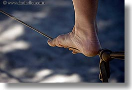 activities, california, feet, horizontal, jills, kings canyon, tightrope, walk, west coast, western usa, photograph