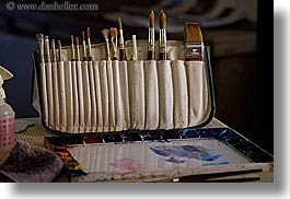 brushes, california, horizontal, kings canyon, paintings, watercolors, west coast, western usa, photograph