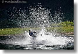 california, horizontal, kings canyon, max, wakeboarding, waterskiing, west coast, western usa, photograph