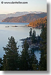 california, east, lake tahoe, lakeshore, scenics, vertical, west coast, western usa, photograph