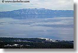 california, horizontal, lake tahoe, lakes, mountains, scenics, snow, west coast, western usa, photograph