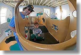 boys, california, childrens, discovery museum, fathers, fisheye lens, horizontal, marin, marin county, men, north bay, northern california, san francisco bay area, sons, west coast, western usa, photograph