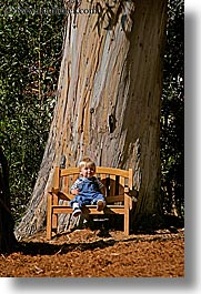 babies, benches, california, discovery museum, jacks, marin, marin county, north bay, northern california, san francisco bay area, trees, vertical, west coast, western usa, photograph