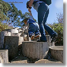 babies, california, climbing, discovery museum, jacks, marin, marin county, north bay, northern california, san francisco bay area, square format, stumps, west coast, western usa, photograph