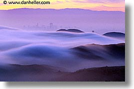 california, fog, horizontal, marin, marin county, north bay, northern california, rolling, san francisco bay area, tam, west coast, western usa, photograph