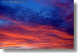 california, clouds, colorful, greenbrae, horizontal, marin, marin county, north bay, northern california, sunsets, west coast, western usa, photograph