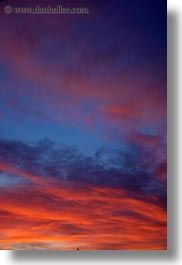 california, clouds, colorful, greenbrae, marin, marin county, north bay, northern california, sunsets, vertical, west coast, western usa, photograph