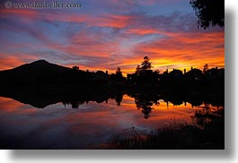 california, dawn, greenbrae, horizontal, marin, marin county, north bay, northern california, reflections, rivers, sunsets, west coast, western usa, photograph