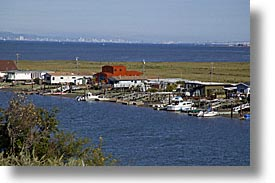 california, greenbrae, horizontal, house boats, houseboats, marin, marin county, north bay, northern california, san francisco bay area, water, west coast, western usa, photograph