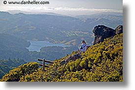 california, headlands, hikers, hills, horizontal, jills, landscapes, marin, marin county, marin headlands, mountains, north bay, northern california, san francisco bay area, scaling, tam, west coast, western usa, womens, photograph