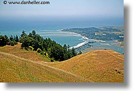 california, headlands, hikers, hills, hilltop, horizontal, landscapes, marin, marin county, marin headlands, north bay, northern california, san francisco bay area, west coast, western usa, photograph