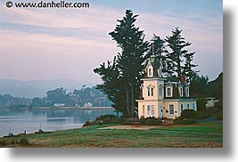 california, horizontal, houses, lyford, lyford house, marin, marin county, mill valley tiburon, north bay, northern california, san francisco bay area, west coast, western usa, photograph