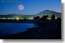 california, horizontal, marin, marin county, moonrise, mount tamalpais, mountains, north bay, northern california, scenics, tam, west coast, western usa, photograph
