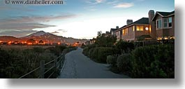 california, horizontal, long exposure, marin, marin county, mount tamalpais, mountains, mt tam, north bay, northern california, panoramic, paths, scenics, sunsets, west coast, western usa, photograph