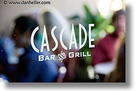brunch, california, cascade, events, film festival, horizontal, marin, marin county, mill valley film festival, north bay, northern california, san francisco bay area, signs, west coast, western usa, photograph