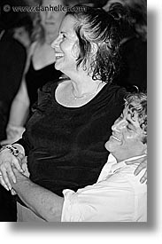 black and white, california, closing nite, couples, events, film festival, marin, marin county, mill valley film festival, north bay, northern california, people, san francisco bay area, vertical, west coast, western usa, photograph
