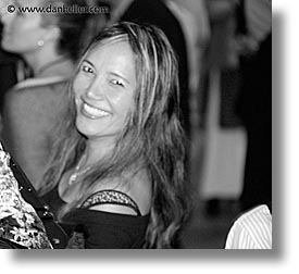 black and white, california, closing nite, events, film festival, horizontal, marin, marin county, mill valley film festival, north bay, northern california, people, san francisco bay area, smiling, west coast, western usa, womens, photograph