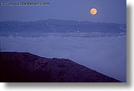california, horizontal, marin, marin county, moonrise, nite, north bay, northern california, san francisco bay area, west coast, western usa, photograph
