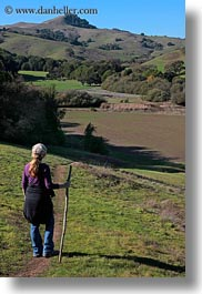 california, green, hiking, hills, jills, landscapes, lush, marin, marin county, nature, north bay, northern california, novato, people, scenics, stafford lake park, vertical, west coast, western usa, womens, photograph