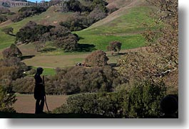 california, hiking, horizontal, jills, landscapes, marin, marin county, nature, north bay, northern california, novato, people, scenics, silhouettes, stafford lake park, west coast, western usa, womens, photograph
