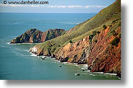 california, coast, coastline, headlands, horizontal, lighthouses, marin, marin county, north bay, northern california, pacific ocean, point bonita, rockies, san francisco bay area, scenics, water, west coast, western usa, photograph