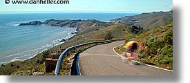 bicycles, bonita, california, coastline, fast, horizontal, lighthouses, marin, marin county, north bay, northern california, pacific ocean, panoramic, point, point bonita, san francisco bay area, scenics, water, west coast, western usa, photograph