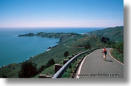 bicycles, bonita, california, coastline, fast, horizontal, lighthouses, marin, marin county, north bay, northern california, pacific ocean, point, point bonita, san francisco bay area, scenics, water, west coast, western usa, photograph