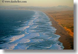 beaches, california, coastline, horizontal, long, marin, marin county, north bay, northern california, west coast, western usa, photograph