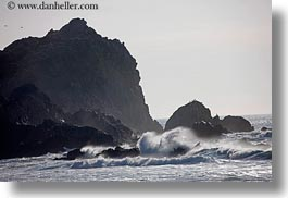 beaches, california, horizontal, marin, marin county, north bay, northern california, ocean, rocks, waves, west coast, western usa, photograph
