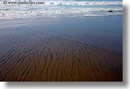 abstracts, arts, beaches, california, horizontal, marin, marin county, north bay, northern california, ripples, sand, west coast, western usa, photograph