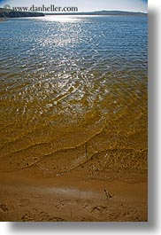 beaches, california, marin, marin county, north bay, northern california, shallow, vertical, water, west coast, western usa, photograph
