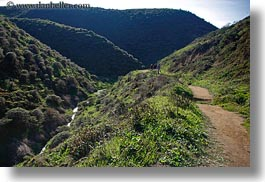 california, colors, green, hikers, hills, horizontal, landscapes, marin, marin county, nature, north bay, northern california, paths, scenics, west coast, western usa, photograph