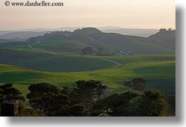 california, colors, green, haze, hills, horizontal, landscapes, lush, marin, marin county, nature, north bay, northern california, roads, scenics, west coast, western usa, photograph