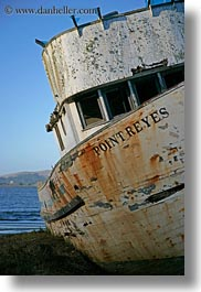 boats, california, marin, marin county, north bay, northern california, point, reyes, vertical, west coast, western usa, photograph