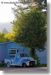 california, cars, marin, marin county, north bay, northern california, old, olema, vertical, west coast, western usa, photograph