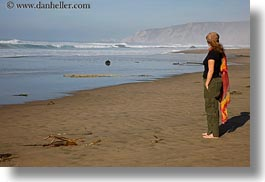 beaches, california, horizontal, jack jill, jills, marin, marin county, north bay, northern california, ocean, people, standing, west coast, western usa, photograph