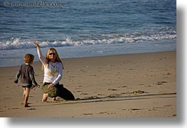 beaches, california, horizontal, jack and jill, jack jill, marin, marin county, north bay, northern california, people, waving, west coast, western usa, photograph