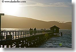 bay, california, cove, horizontal, marin, marin county, nature, nicks, nicks cove, north bay, northern california, piers, sky, sun, sunsets, tomales bay, water, west coast, western usa, photograph