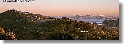california, cityscapes, horizontal, marin, marin county, mountains, north bay, northern california, panoramic, ring mountain, rings, san francisco bay area, west coast, western usa, photograph