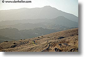 california, hikers, horizontal, landscapes, marin, marin county, mount tamalpais, mountains, north bay, northern california, paths, ring mountain, rings, san francisco bay area, trails, west coast, western usa, photograph