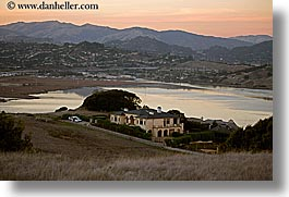 california, horizontal, houses, marin, marin county, mountains, north bay, northern california, ring mountain, rings, san francisco bay area, west coast, western usa, photograph