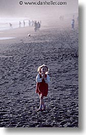 california, dresses, girls, marin, marin county, north bay, northern california, red, rodeo beach, san francisco bay area, vertical, west coast, western usa, photograph