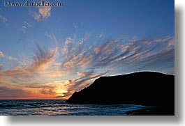 beaches, california, horizontal, marin, marin county, mars, north bay, northern california, rodeo, rodeo beach, san francisco bay area, sunsets, waves, west coast, western usa, photograph