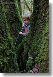 boys, california, childrens, colors, forests, green, jacks, lush, marin, marin county, mossy, nature, north bay, northern california, people, phoenix lake park, plants, ross, scenics, trees, vertical, west coast, western usa, photograph