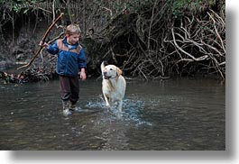 animals, bens, boys, california, childrens, dogs, horizontal, kyle, labrador, marin, marin county, north bay, northern california, people, phoenix lake park, ross, west coast, western usa, photograph