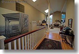 california, hallway, horizontal, marin, marin county, north bay, northern california, other, paintings, san anselmo, tomahawk, west coast, western usa, photograph